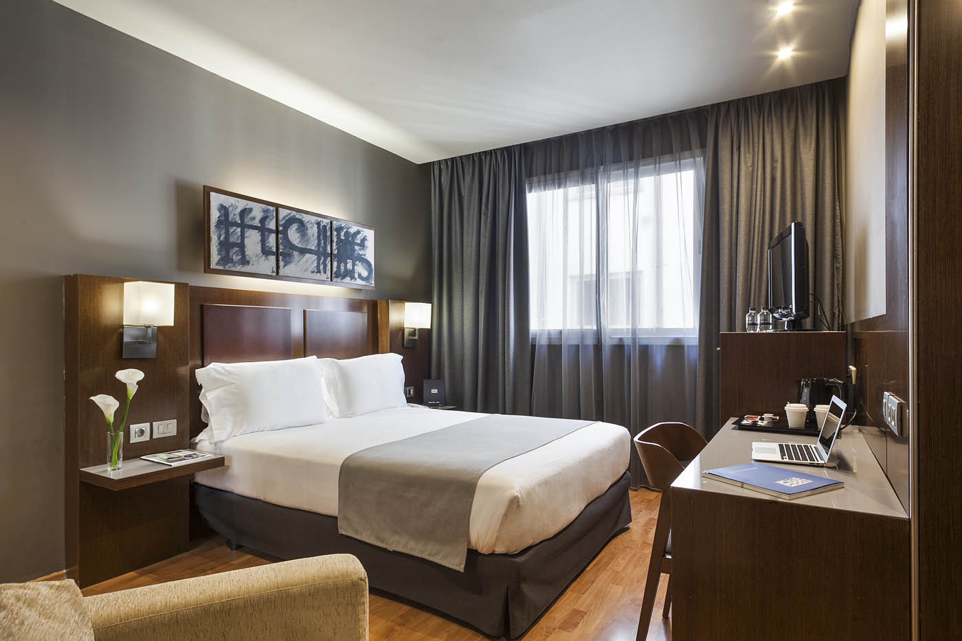 Hotel acta atrium palace hotel en el centro de barcelona for Hoteles barcelona habitaciones cuadruples