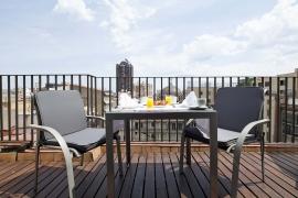 (Español) Hotel Atrium | Habitación Doble terraza