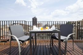 Hotel Atrium | Habitación Doble terraza